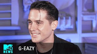 Video G-Eazy Talks 'Him & I' & Being Obsessed w/ Halsey | MTV News MP3, 3GP, MP4, WEBM, AVI, FLV Januari 2018