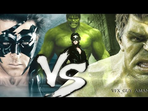 Krrish Vs Hulk (The Final Battle) |FAN MADE|