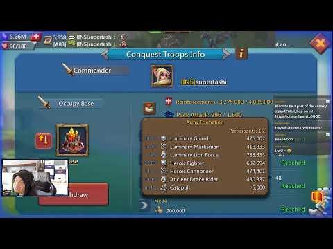 Lords Mobile - KINGDOM VS KINGDOM | January 2021