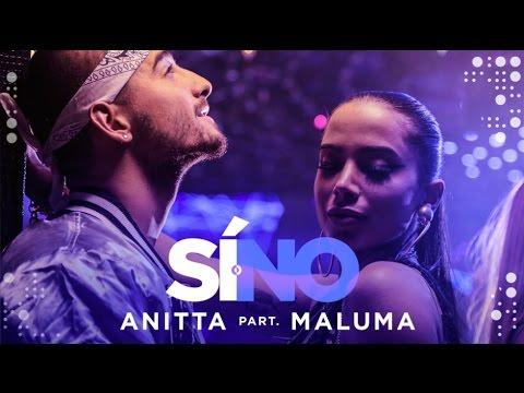 Letra Si O No (Español Versión) Anitta Ft Maluma