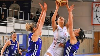 Feytiat France  City new picture : Feytiat Basket; France NF1; 2015/2016 season (Andra Ionescu #7 white)