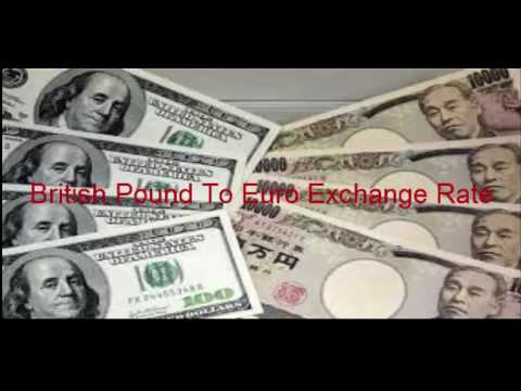 British Pound To Euro Exchange Rate Slides