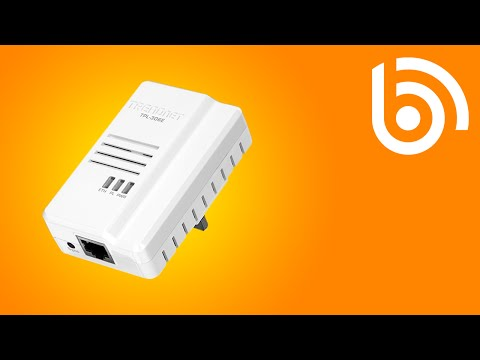 TRENDnet TPL-408E2K HomePlug Kit