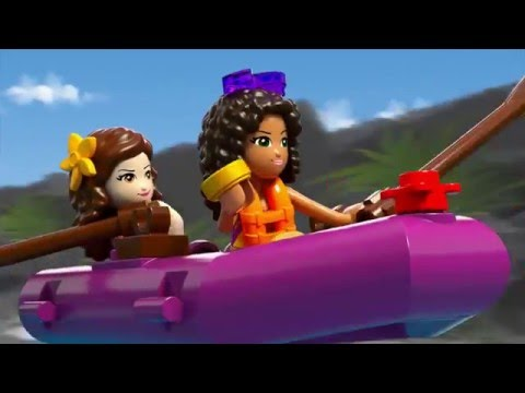Конструктор Спортивный лагерь: сплав по реке - LEGO FRIENDS - фото № 8