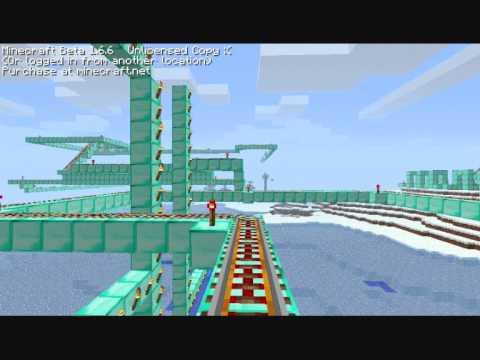 Minecraft - Big Roller Coaster