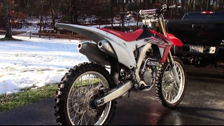 3. 2015 CRF250R Review