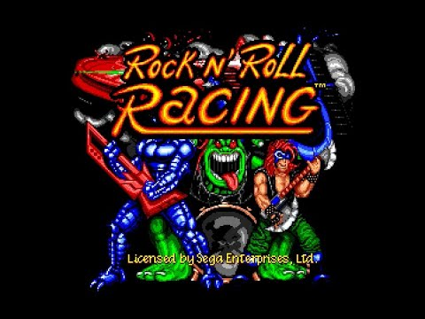 rock n roll racing megadrive rom
