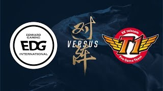 Video EDG vs. SKT   Group Stage Day 2   2017 World Championship   Edward Gaming vs SK telecom T1 MP3, 3GP, MP4, WEBM, AVI, FLV Oktober 2017