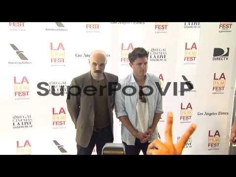 David Lowery, Casey Affleck at 2013 Los Angeles Film Fest...