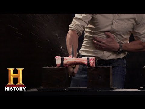 Forged in Fire: Chopper Blade Tests (Season 5, Episode 1) | History