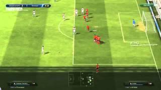 Mẹo FIFA Online 3: di chuyển hàng rào sút phạt, fifa online 3, fo3, video fifa online 3