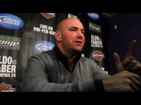 Dana White Post WEC 48 Talks Taking the UFC to Afghanistan For the Troops