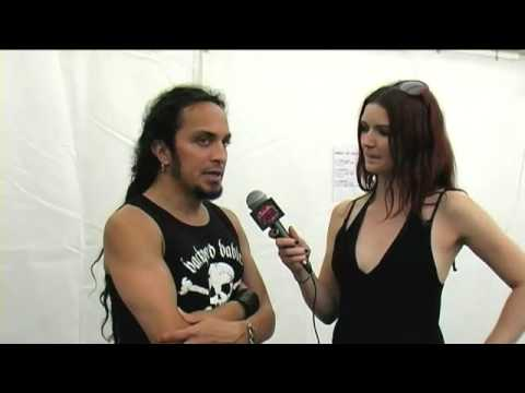 Death Angel Interview at Metalcamp 2009 online metal music video by DEATH ANGEL