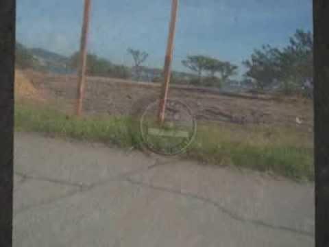 Localização do marco de FMP em frente ao Parklagos