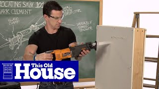 From our Tool School series: Pro tips on avoiding disaster when plunge-cutting into a wallClick here to SUBSCRIBE to the official This Old House YouTube channel: http://www.youtube.com/subscription_c...Tool School web series on thisoldhouse.com: https://www.thisoldhouse.com/old-house-tool-school-web-seriesFollow This Old House: Facebook: https://www.facebook.com/ThisOldHouseTwitter: https://twitter.com/thisoldhousePinterest: http://www.pinterest.com/thisoldhouse/G+: https://plus.google.com/+thisoldhouse...Instagram: http://instagram.com/thisoldhouseTumblr: http://thisoldhouse.tumblr.com/