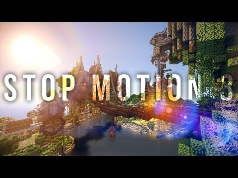 Minecraft | Steamshire Island | Stop Motion 3