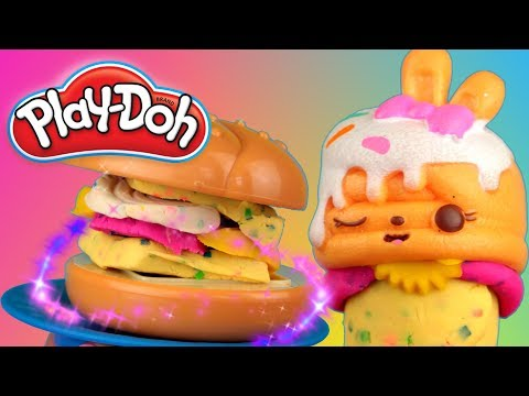 Play Doh Kitchen  Candy Burger  E2391