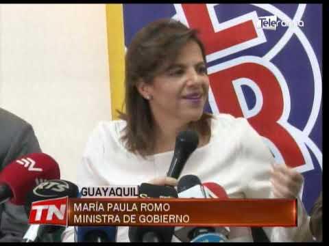 Ministra de gobierno confía que pronto se firmaría plan más seguridad con cabildo