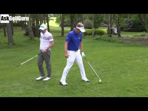Luke Donald Chipping Golf Game Part 2