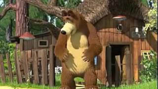 ماشا والدب Маша и Медведь Masha and The Bear   Маша плюс каша 17 Серия