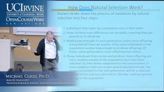 BioSci 94: Organisms To Ecosystems. Lec. 2. Evolution By Natural Selection