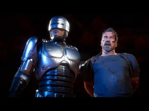 Бой года: Робокоп vs. Tерминатор