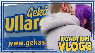 Video ROADTRIP! ❤ Ullared med pojkvännen - DEL 1 MP3, 3GP, MP4, WEBM, AVI, FLV Agustus 2017