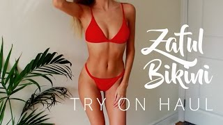 Nonton Huge Try On Bikini Haul   Zaful   Brooke Mcnally Film Subtitle Indonesia Streaming Movie Download
