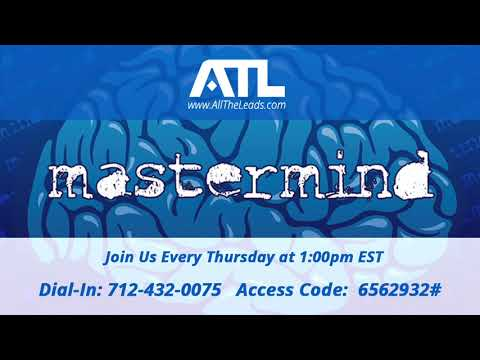 All The Leads Probate Mastermind Call #131 | Probate Leads