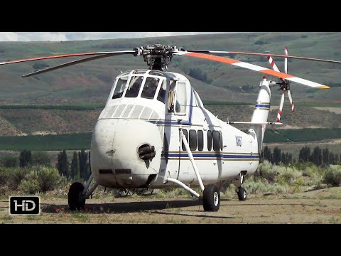 Sikorsky S58 Starts the engine like an OLD car