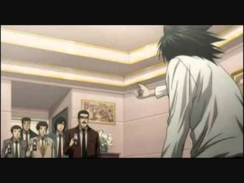 "Death Note- L ""Bang"" Message Tone"