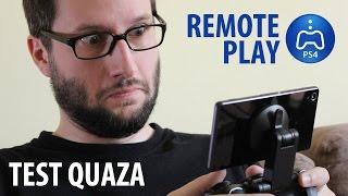 Remote Play / Granie Zdalne PS4 - test quaza