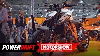 2. 2019 KTM 1290 Super Duke R : Quintessential hooligan : Intermot 2018 : PowerDrift