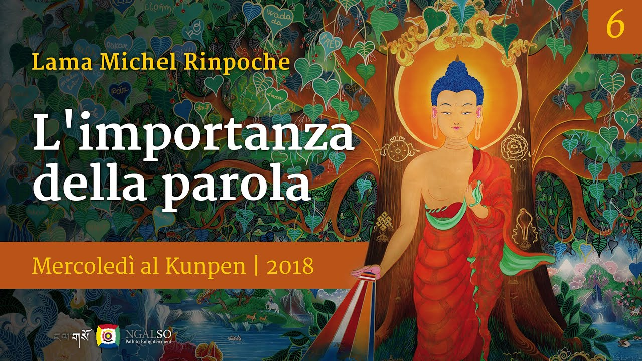 Teachings on Wednesday with Lama Michel Rinpoche at Kunpen Milan