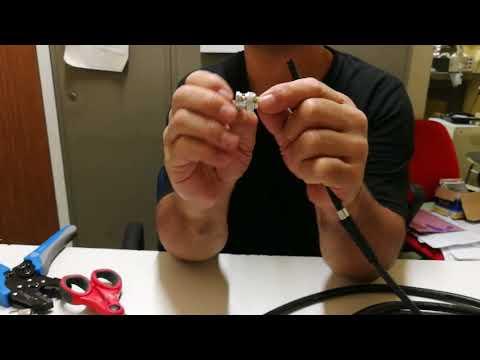 Come realizzare i connettori per cavi coassiali