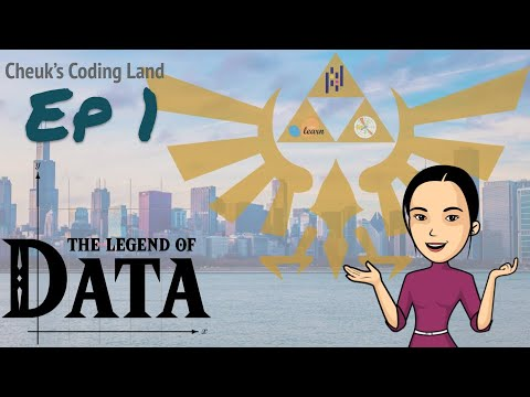 The Legend of Data - Ep.1 - Introduciton to Jupyter notebook
