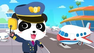 Video Baby Panda's Airport | Cool Flight Journey | Airplane Safety Tips | Gameplay Video | BabyBus Game MP3, 3GP, MP4, WEBM, AVI, FLV April 2019