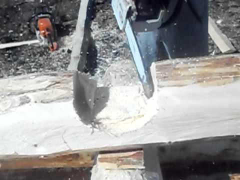 технология рубки чашка вниз с термошипом.AVI