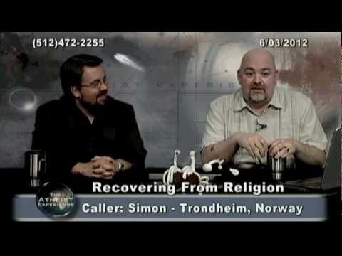 764 - The Atheist Experience #764 of June 3, 2012, with Matt Dillahunty and Jerry DeWitt of Recovering from Religion. Index: 0:00; 0:46; 9:22 Ida (FL); 24:22 Rober...