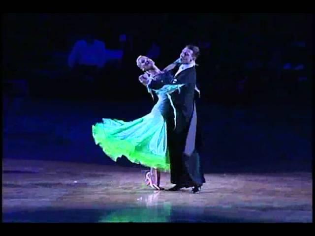 2011 Asian Open Professional Dance Championships-Standard Arunas Bizokas and Katusha Demidova Slow Foxtrot.