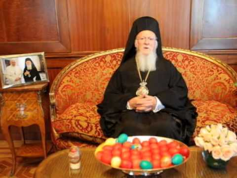 Ecumenical Patriarch Bartholomew Explains the Purpose of the Meeting in Jersualem