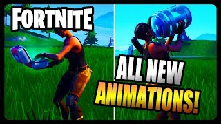 ALL NEW HEALING ANIMATIONS! (Fortnite Season 8)