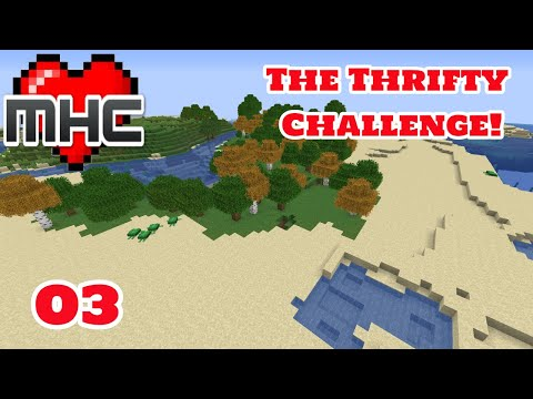 Night Time Burglary - The Thrifty Challenge - (Minecraft Hardcore Challenge - May 2020) - Day 3