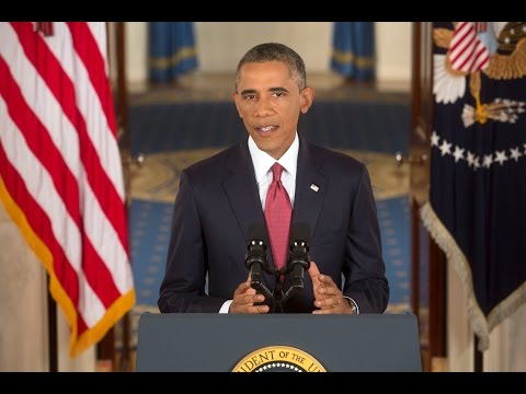 president - Speaking from the State Floor in the White House on September 10, 2014, President Obama addressed the nation on the situation in Iraq and the United States' ...