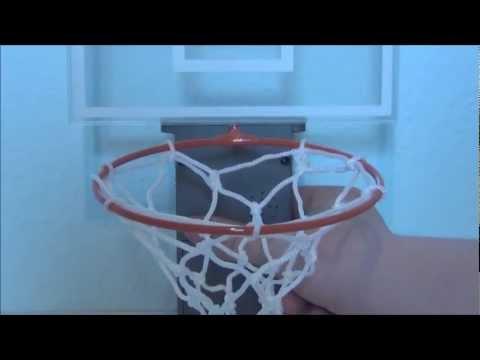 Basketballkorb für Papierkörbe (Gadget Test)