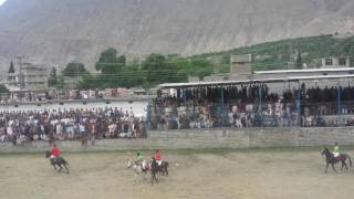 Gilgit traditional Polo Match-2017