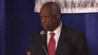 Click to play: Clarence Thomas Address at the 2007 National Lawyers Convention - Event Audio/Video