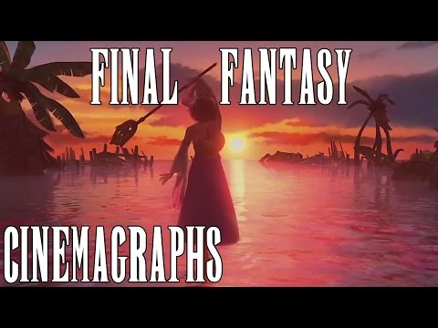 Final Fantasy Cinemagraphs - My Small Animated FFX Collection - Steam Wallpaper Engine (видео)
