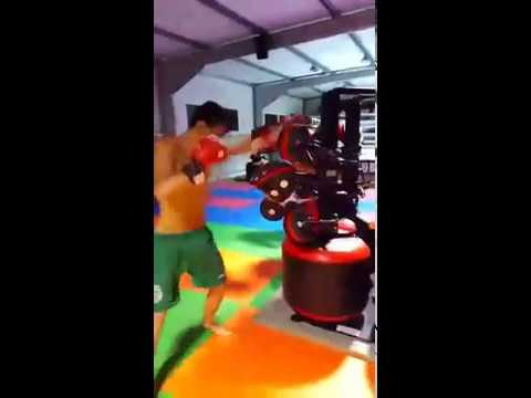 Brazilian MMA Champs Andre Santos and Tiago Santos