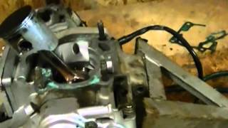 10. yz 125 project pt. 7 (cylinder & piston bad)